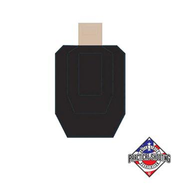 Official IPSC / USPSA Hard Cover Cardboard Target – B Zone?>