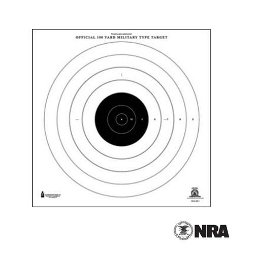 Official NRA 100-Yard High Power Rifle Slow & Rapid Fire Target (SR-1)?>