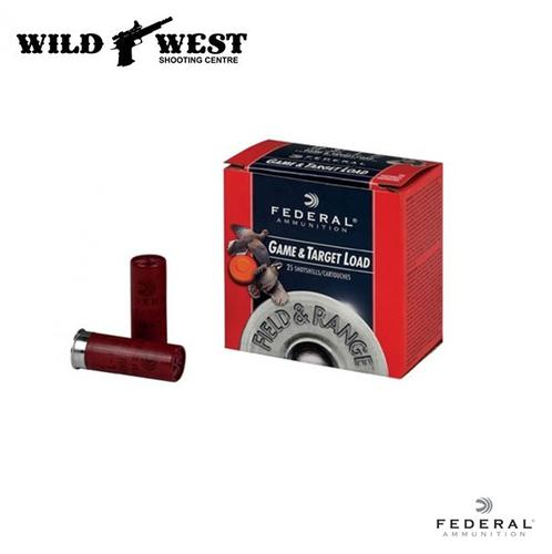Federal Game & Target Load 12ga. 2-3/4″ 1oz. #8 – 250 Rounds?>