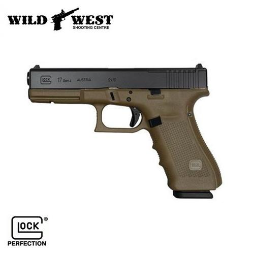 GLOCK 17 Gen 4 M.O.S  9mm – OD Green?>
