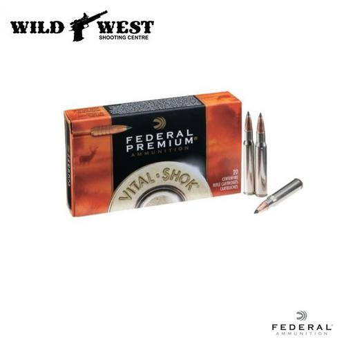 Federal Premium .270 Win 130Gr. Vital-Shock Trophy Copper 20 Rounds?>