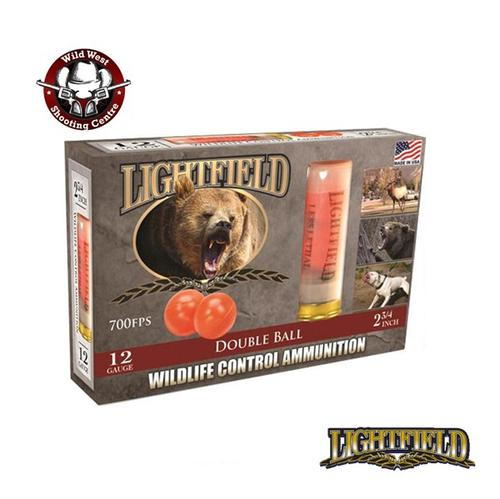 Lightfield 12ga. 2-3/4″ Rubber Ball Defense Slugs – 5 Rounds?>