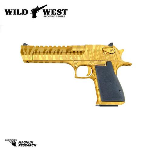 Magnum Research Desert Eagle Titanium Gold Tiger Stripe .44mag?>