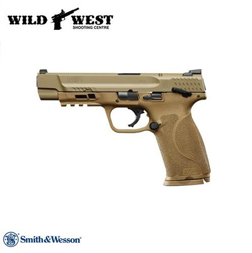 Smith & Wesson M&P9 2.0 w/Thumb Safety 9mm – FDE?>