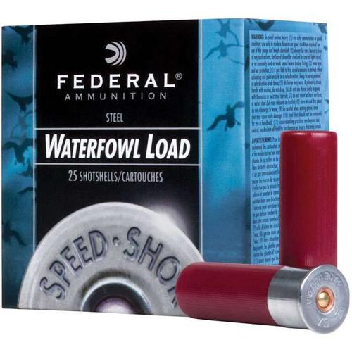Federal Ammunition 12 Ga 3″ 2 Shot Waterfowl Steel Loads/ 25 Rounds?>