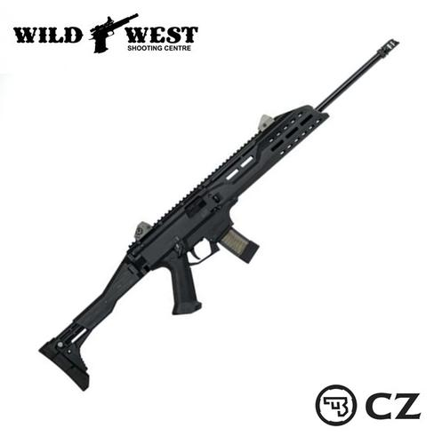 CZ Scorpion EVO 3 18.6″ 9mm Non-Restricted, Black Magpul?>