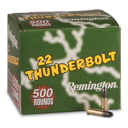 Remington Thunderbolt .22 LR 40 Grain 500 Rounds?>