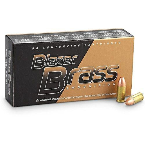 CCI Blazer Brass 9mm FMJ 124g 50 per box?>
