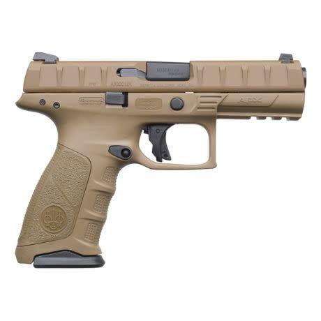 "Beretta APX, Flat Dark Earth , 9mm, 4.25""?>"