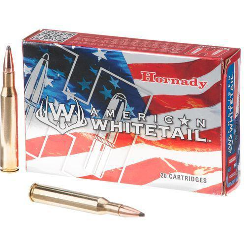 Hornady American Whitetail 25-06 Remington 117 Grain Interlock Spire Point Boat Tail Box of 20?>