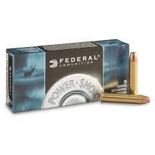 FEDERAL POWER-SHOK 45-70 GOVERNMENT 300 GRAIN ROUND NOSE SOFT POINT BOX OF 20?>