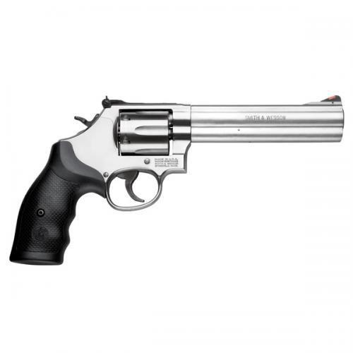 "Smith & Wesson® 686 .357 MAG, 6"" Barrel, Stainless, 6 Round?>"