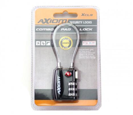 Axiom Combination Pad Lock XCL9?>
