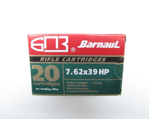 Barnaul 7.62x39 123gr HP, 500 Rounds?>