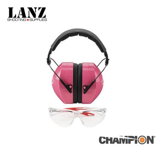 Champion Ears & Eyes Combo (pink)?>