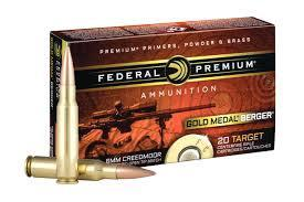 Federal Premiun 6mm Creedmoor 105 Grain Hybrid 20 per box?>
