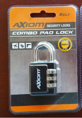 Axiom Combo Pad Lock XCL1?>