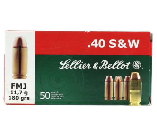 Sellier & Bellot 40 S&W 180 Grain Full Metal Jacket 1000 Rounds?>