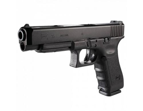 Glock 35 Semi-Auto Pistol, .40 S&W, Black Finish, Adjustable Sights, 10 Round?>