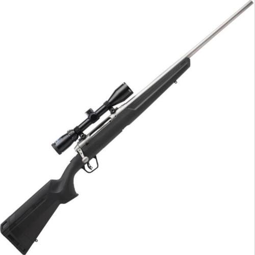 "Savage Axis II XP Stainless Package Bolt Action Rifle .243 Win 22"" Barrel 4 Rounds with 3-9x40 Scope Matte Stainless Finish?>"