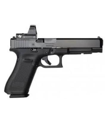 Glock 34 Gen5 MOS Optic Ready Pistol, 9mm with Riton X3 Tictix PRD?>