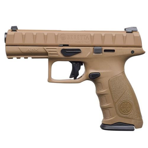 "Beretta APX Flat Dark Earth , 9mm, 4.25""?>"