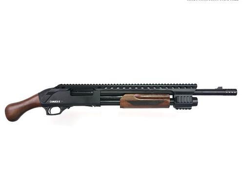 "Canuck Renegade Pump Action Shotgun, 12 Gauge, 3"", 14"" Barrel, 3 Mobile Chokes, Breecher Choke, Synthetic Raptor Grip and Fixed Stock Included?>"