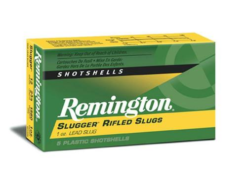 "Remington 12G, Slugger 3"" 1oz Box of 5?>"