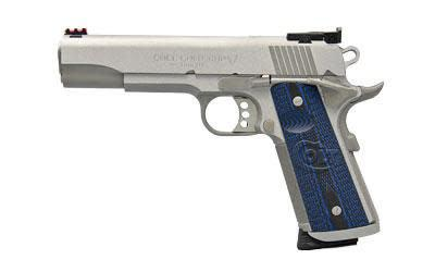 "Colt 1911 Gold Cup Trophy w/Fiber Optic Sights .45ACP, 5""?>"