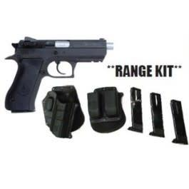 "Magnum Research Baby Desert Eagle II, 9mm, 4.25"" Barrel, Black, 10 Round, Range Kit?>"