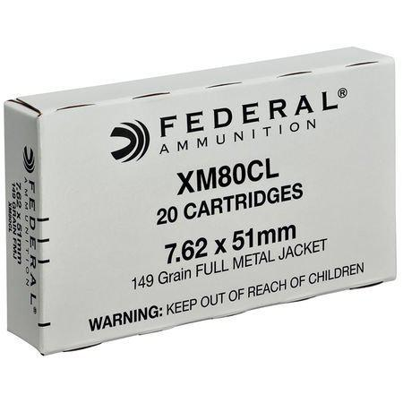 Federal 7.62x51mm FMJ 149 Gr. Box of 20?>
