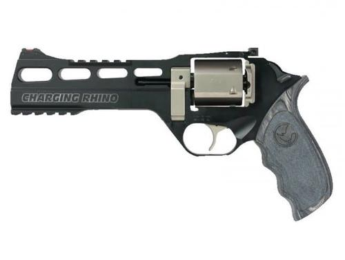 "Chiappa Charging Rhino 60DS Black/White - 9mm, 6""?>"