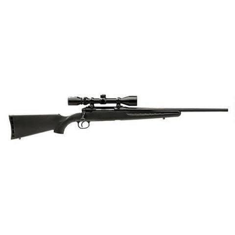 "Savage Arms Axis XP Bolt Action Rifle Combo 30-06, 22"", Black, Synthetic, w/Bushnell 3-9x40mm?>"