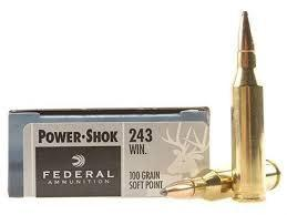 FEDERAL POWER-SHOK 243 WINCHESTER 100 GR. SP BOX OF 20?>