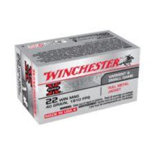 Winchester Super-X .22 Win Mag 40-Grain Full Metal Jacket Rifle Ammunition?>