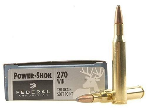 Federal Power-Shok 270 Winchester 130 Grain Soft Point?>