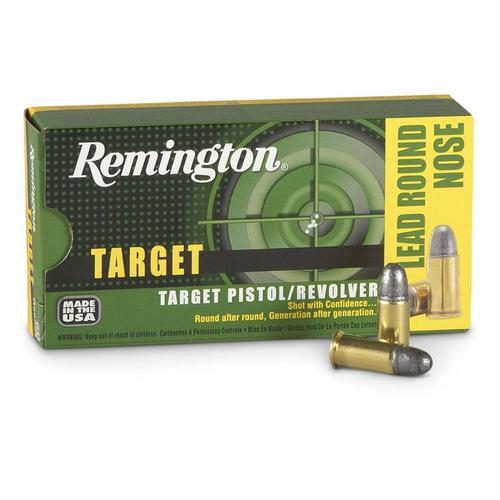 Remington Target 38 S&W 146 Grain Lead Round Nose Box Of 50?>