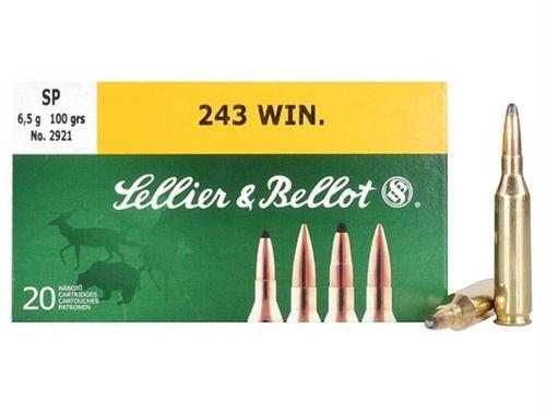 Sellier & Bellot Ammunition 243 Winchester 100 Grain Soft Point Box of 20?>