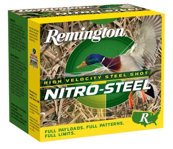 Remington Ammunition Nitro Steel Steel NS12M4?>