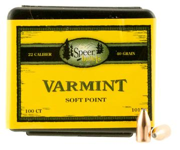 Speer Bullets Rifle Varmint TNT Green 1021?>