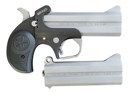 "Bond Arms BOND ARMS WICKED 9MM 4.25"" AND EXTRA .45/410 BARREL SS?>"