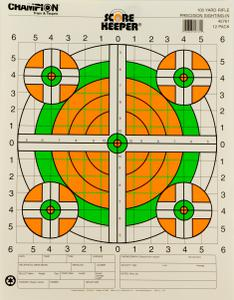 Champion Targets Scorekeeper Rifle Sight-In 45761?>