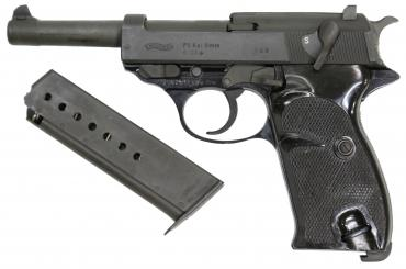 "Walther          	Walther P1 9mm 4.9"" Surplus?>"
