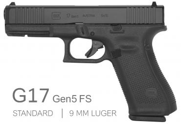 Glock          	Glock G17 Gen 5 Front Serrations - Fixed Sights?>