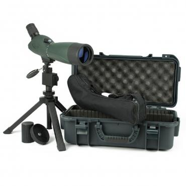 Hawke Optics          	VANTAGE 20-72×70 Spotting Scope Kit?>