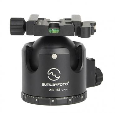 Sunwayfoto          	52mm Super Low-Profile Ball Head with Quick-Lever Clamp?>
