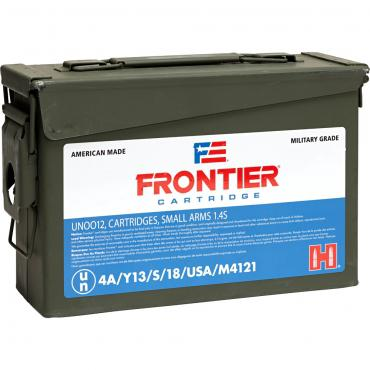 Frontier Cartridge          	5.56x45mm NATO 55 Gr XM193 FMJ-BT Frontier®?>