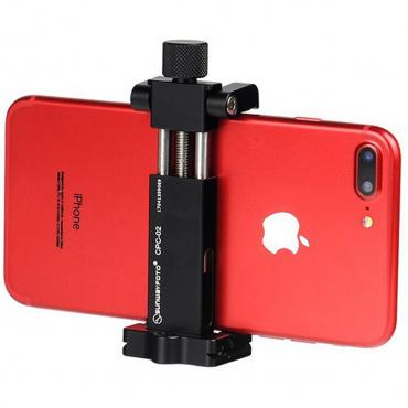 Sunwayfoto          	Sunwayfoto Mobile Phone Clamp with Tripod Mount and Arca Dovetail?>