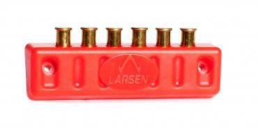Larsen Biathlon          	In-Line Spare Shell Holder RED?>