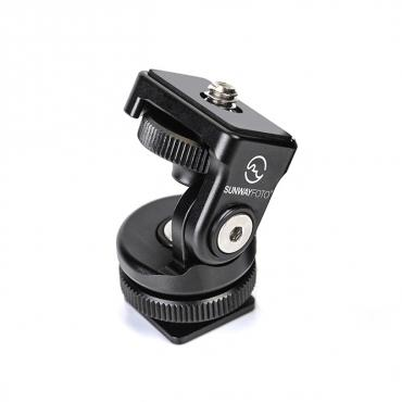Sunwayfoto          	Sunwayfoto HB-02 Hot Shoe Tilt Head?>